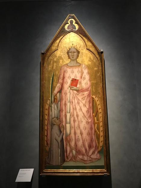 Bernardo Daddi 'St Catherine'